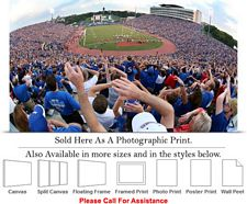 University of Kansas at Memorial Stadium Football Photo Print 24