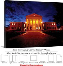 University of Mississippi College Campus Lyceum  Canvas Wrap 30