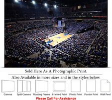 University of Memphis College Basketball Court Photo Print 24