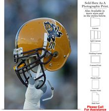 Arizona State University The Pride Football Helmet Photo Print 16