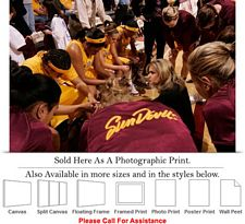 Arizona State University with Coach Charli Thorne Photo Print 24