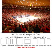 University of New Mexico College Basketball Court Photo Print 24