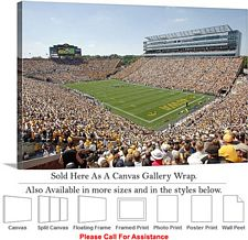 "University of Iowa Kinnick Stadium Football Game Canvas Wrap 30"" x 20"""