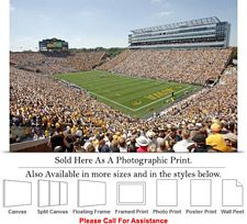 "University of Iowa Kinnick Stadium Football Game Photo Print 24"" x 16"""