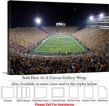 University of Iowa Football Game Halftime Show Canvas Wrap 30