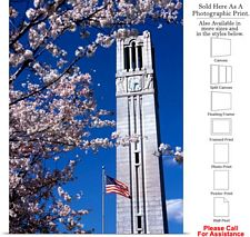 North Carolina State University Campus Bell Tower Photo Print 16