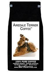Airedale Terrier Gift Coffee, 12 Ounce Bag of Gourmet Coffee