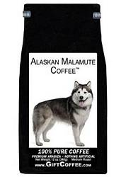 Alaskan Malamute Gift Coffee, 12 Ounce Bag of Gourmet Coffee
