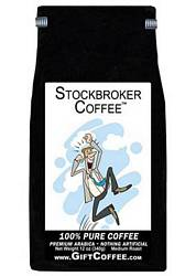 Stockbroker Gift Coffee, 12 Ounce Bag of Gourmet Coffee