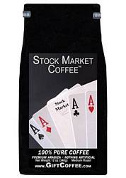 Stock Market Gift Coffee, 12 Ounce Bag of Gourmet Coffee