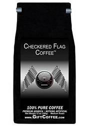 Checkered Flag Gift Coffee, 12 Ounce Bag of Gourmet Coffee
