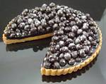 Fake Food Blueberry Torte Slice Out