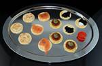 Fake Food 12 Piece Assorted Hors D'oeuvre Platter