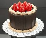 Fake Food Jr. Chocolate Strawberry Cake