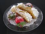 Fake Food Cannoli Plate