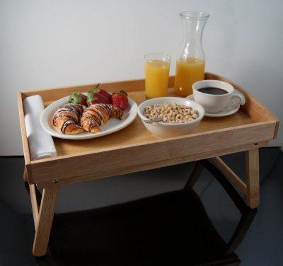 Fake Food Breakfast In Bed
