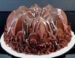 Fake Food Chocolate Dutch Bundt Cake