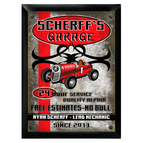 Personalized Garage Signs For Automotive : Personalized quot garage pub sign