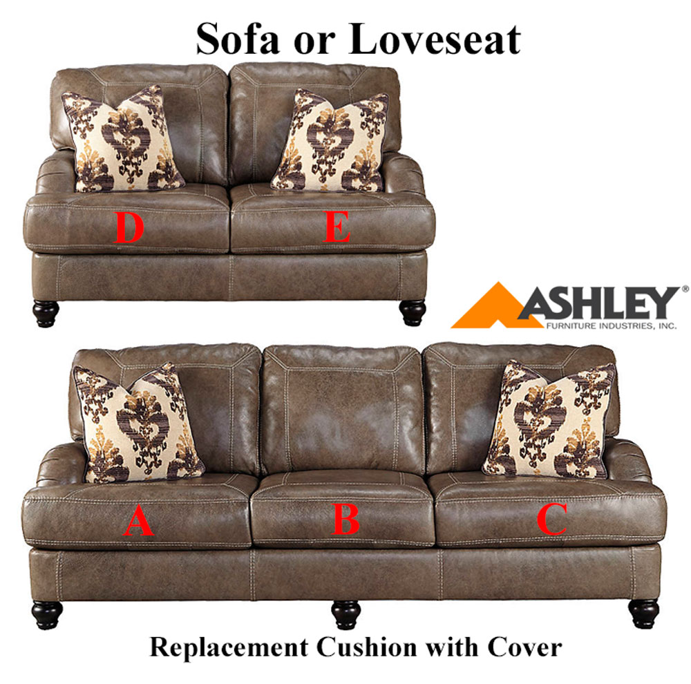 Ashley kannerdy replacement cushion cover 8040238 sofa or 8040235 love Loveseat cushion covers