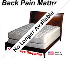 California Queen Back Pain Mattress