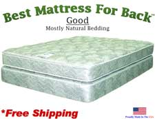 Three Quarter Good, Best Mattress For Back