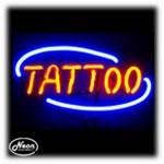 Tattoo Neon Sculpture