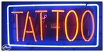 Tattoo Neon Business Sign
