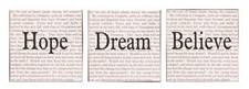 Inspire Canvas Set of 3