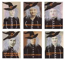 Witchy Woman Canvas Set of 6