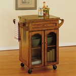 Noble Oak Kitchen Cart