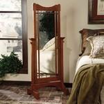 Mission Oak Cheval Mirror