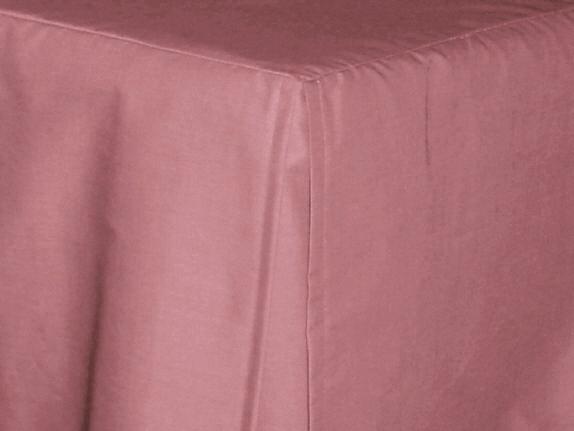 Antique Rose Tailored Dustruffle Bedskirt