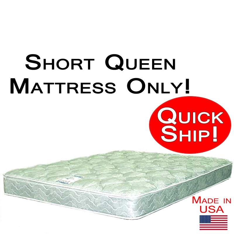 Short Queen Size Abe Feller 174 Mattress Only Good