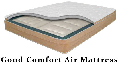 Queen Size Good Comfort Air Mattress With Dual Chambers