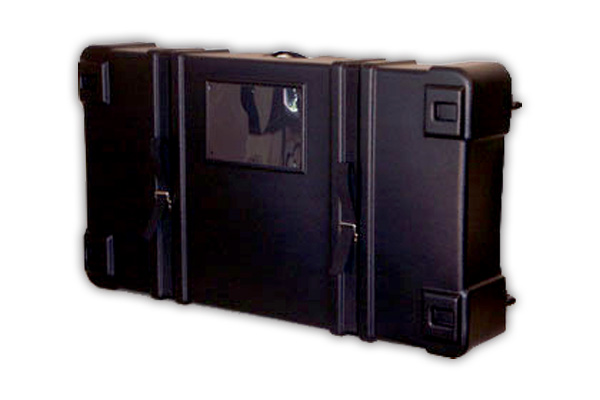 Trade Show And Event Wheeled Hard Cases For Softfloors