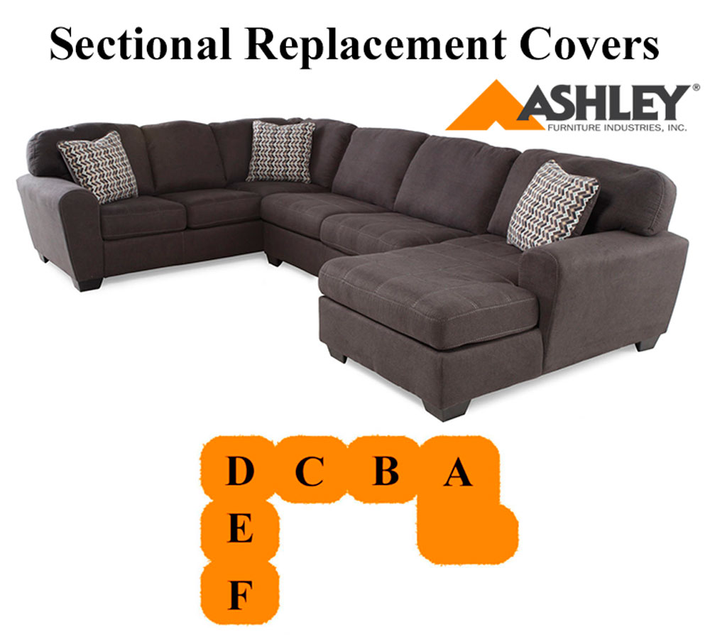 Ashley Sorenton Sectional replacement cushion and cover 28600