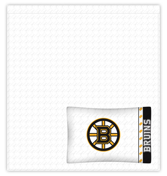 Boston Bruins Sidelines Bedding Collection