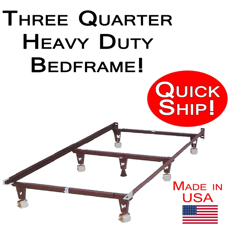 3 4 size heavy duty bed frame for Beds 3 4 size
