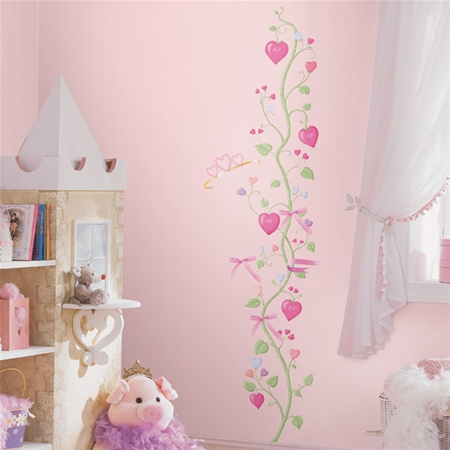 Fairy princess peel and stick border for Fairy princess wall mural