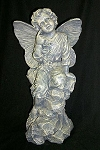 Angel with Antique Finish Exquisite Resin Figure Sculpture