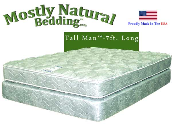 Tall Man™ King Size Abe Feller® GOOD Mattress