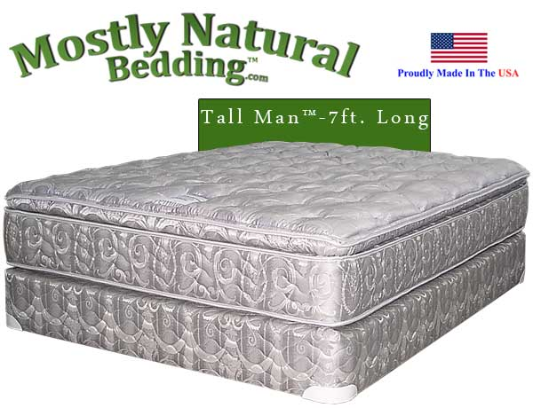 Tall Man™ Queen Size Abe Feller® PREMIUM Mattress