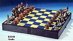 Nautical Chess Set, Crabs