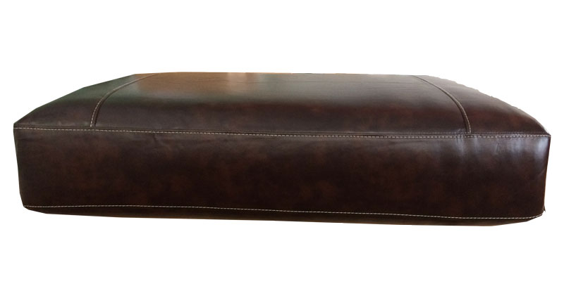 Couch replacement cushions for Brown leather sofa cushion covers