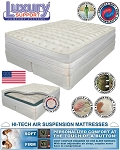 Queen Medallion Dual Chamber Adjustable Comfort Air Mattress