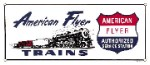 American Flyer Train Metal Sign