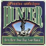 Antique Hunter Metal Sign