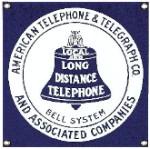 American Telephone Metal Sign