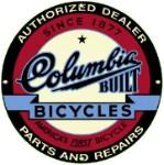 Columbia Bicycles Metal Sign