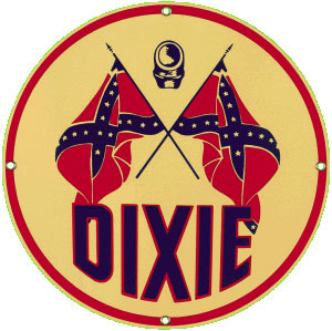 Dixie Metal Sign
